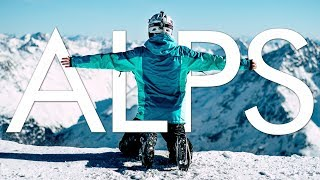 Skiing THE ALPS 2018