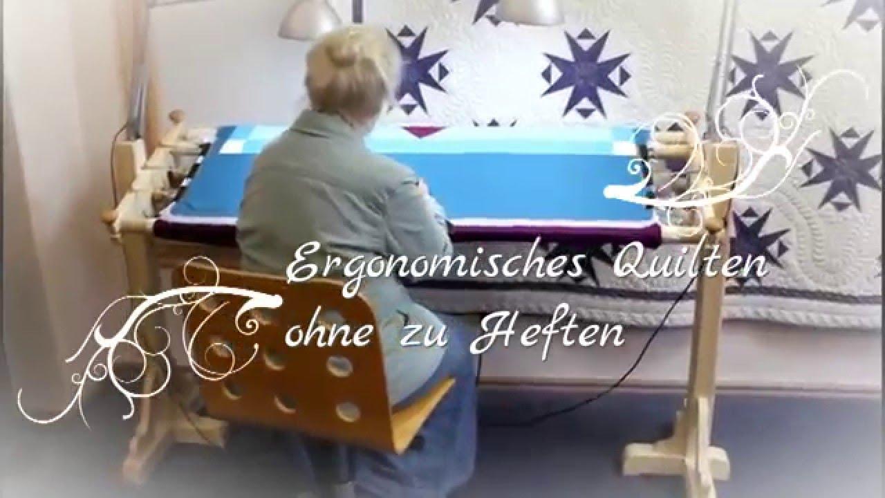 Quiltrahmen Jems von Millersquilting - Vorstellung - YouTube