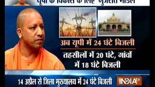 Yogi Govt planning to offer 24 hour electricity to UP