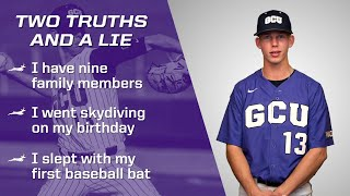 Two Truths & a Lie: Pierson Ohl (Baseball)