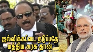 ஜல்லிக்கட்டை தடுப்பதே மத்திய அரசு தான் : Vaiko Speech against BJP Modi on Jallikattu Issue