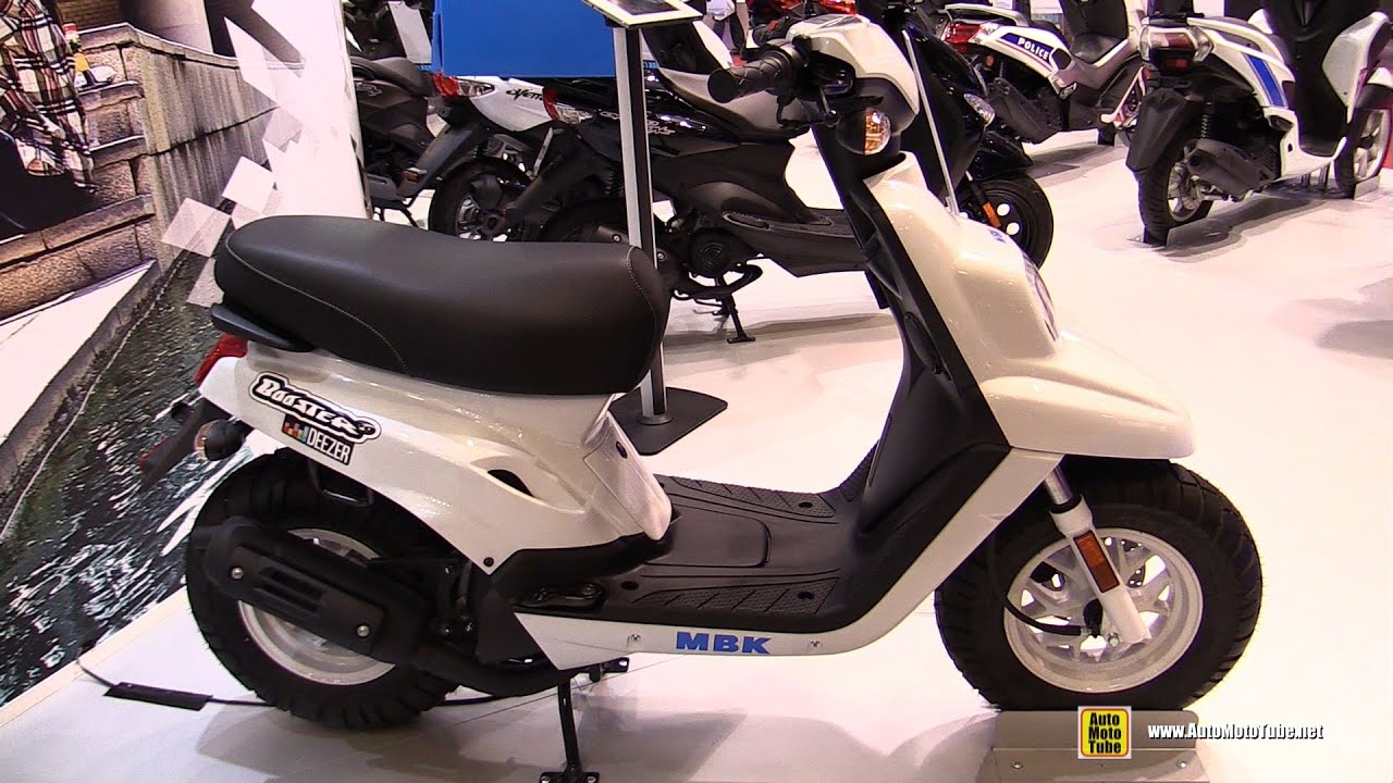 2016 mbk booster deezer 50cc scooter walkaround 2015 salon de la moto paris youtube. Black Bedroom Furniture Sets. Home Design Ideas