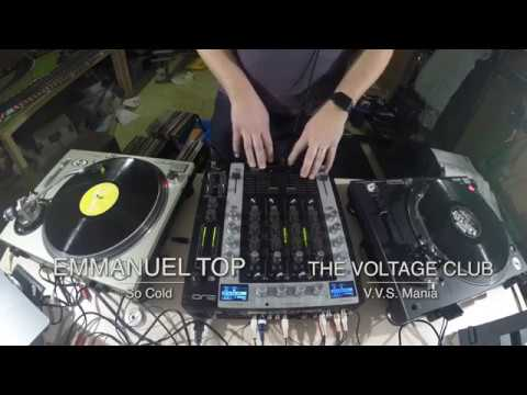 Oldschool techno vinyl mix
