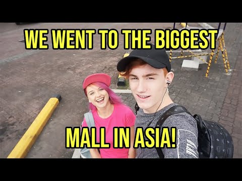 Exploring Mall Of Asia