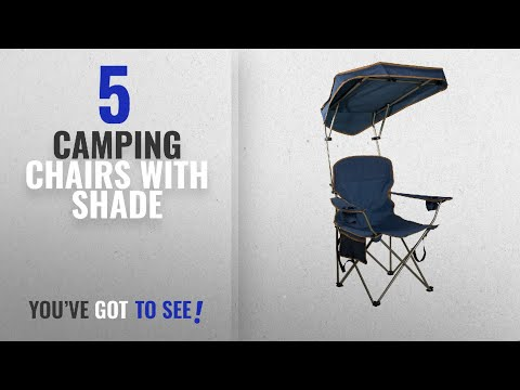 Top 5 Camping Chairs With Shade [2018]: Quik Shade MAX Shade Camp Chair - Navy