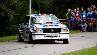 "Onboard im Opel Ascona ""Walter Röhrl"" zur Rallye Grünhain 2012"