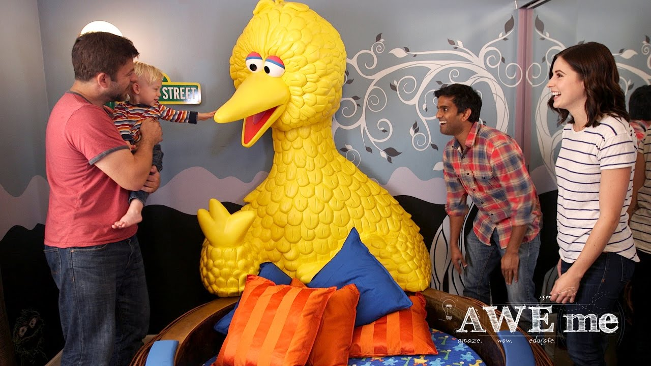 Captivating Big Bird Nest Bed!   Super Fan Builds   YouTube Great Ideas
