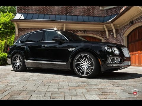 Bentley Bentayga Suv Диски Vossen Wheels VPS 307T By Butler Tire