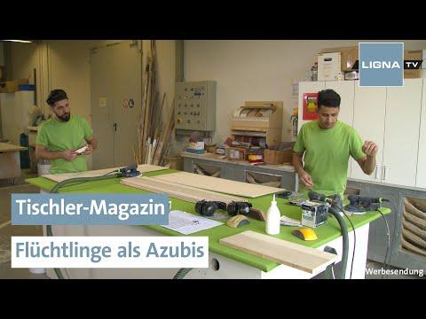 Flüchtlinge Als Azubis   Tischler-Magazin   LIGNA.TV