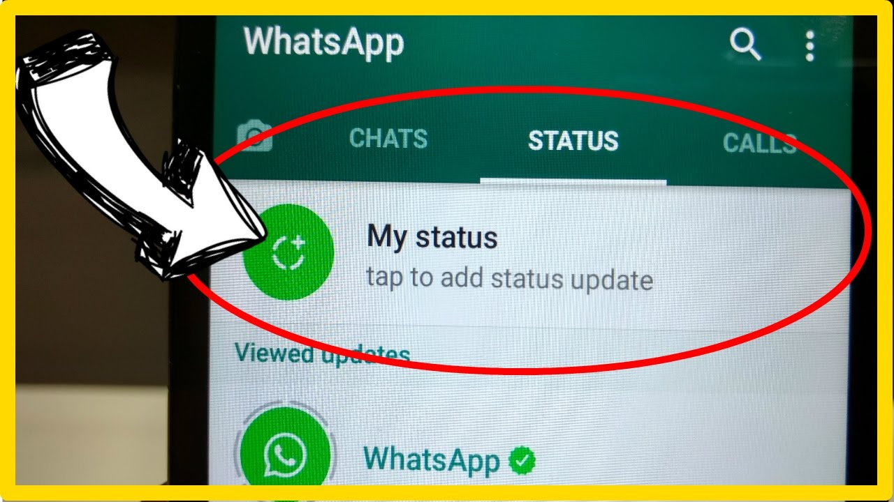 How To Use New Whatsapp Status Feature Review 2017