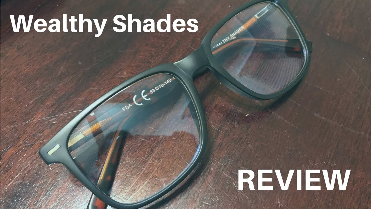 3786a34886 Wealthy Shades