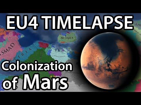 EU4 Timelapse - The Colonization of Mars (Mars Universalis mod)