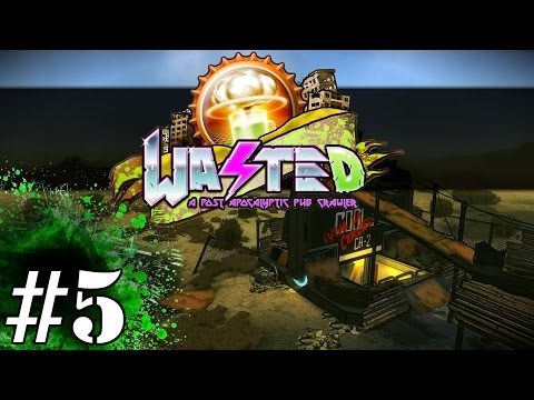 Wasted Gameplay / Let's Play (Adult Swim) - Part 5