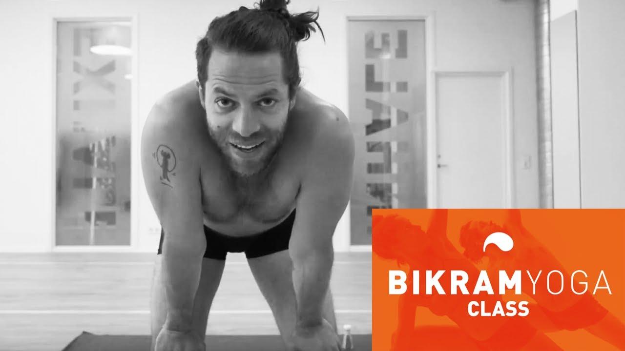 Bikram Yoga Med Christian Youtube