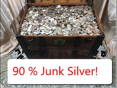 Silver Collection 90% Junk Silver Coins Dimes, Quarters Half Dollars Coin Roll Hunting