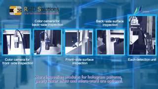 Card Surface Inspection System KXN00 v1.0