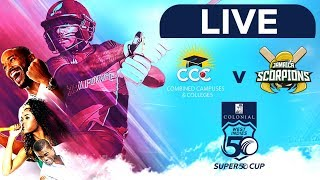 🔴LIVE CCC vs Jamaica | Colonial Medical Insurance Super50 Cup