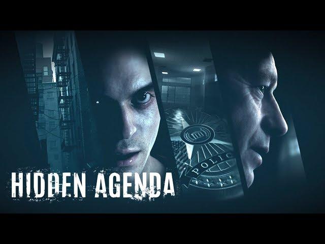 Hidden Agenda All Cutscenes (Game Movie) 1080p HD