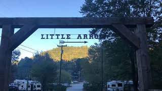 Little Arrow Campground Resort- Great Smoky Mountains- Townsend, TN