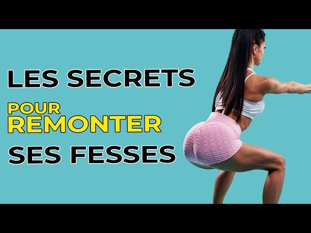 4 EXERCICES MAGIQUES POUR REMONTER SES FESSIERS RAPIDEMENT