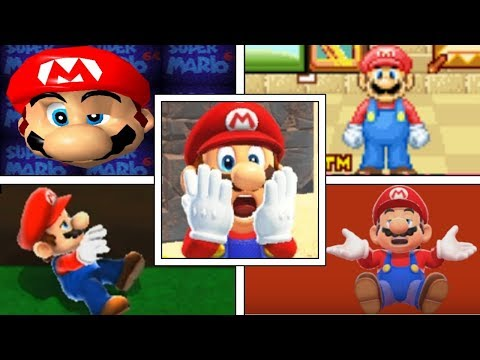 Evolution Of DELETING SAVE FILES In Mario Games (1990-2018) NES, GBA, Nintendo DS, Switch & More!