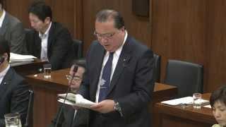 環境委員会では、火曜日の参考人質疑を元に、改めて法案審議。望月大臣...