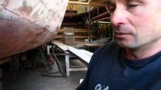 The art of wooden-boat restoration