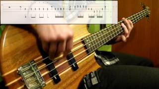 The Jackson 5 - Dancing Machine (Bass Cover) (Play Along Tabs In Video)