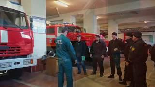 """Обучение по специальности добровольный пожарный для сотрудников """"Барс"""". Часть II"""