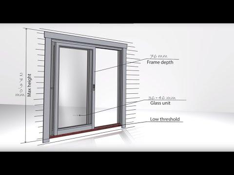 Timber lift and slide door