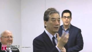 Public Lecture Video (2.20.2015): Regulating Nuclear Energy In Japan