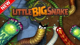 LITTLEBIGSNAKE.IO - THE NEXT SLITHER.IO!! // New .io Game (Slither.io + Wormax.io)