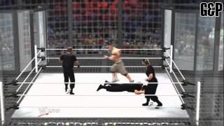 WWE 13 | The Shield vs John Cena, Ryback & Sheamus | Elimination Chamber 2013