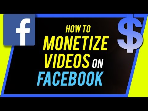How to Monetize Videos on Facebook - Using Facebook Creator Studio