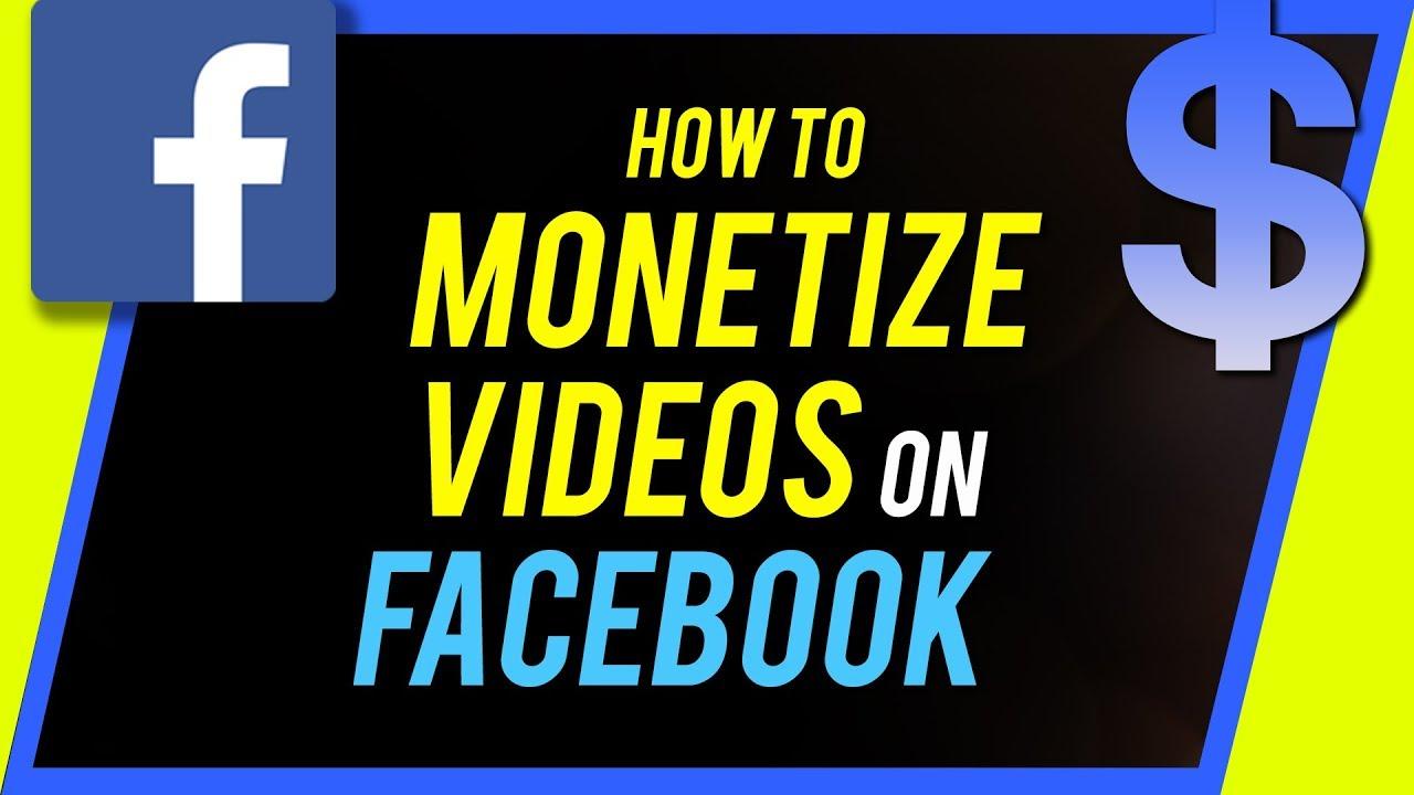 How to Monetize Videos on Facebook - Using Facebook Creator Studio