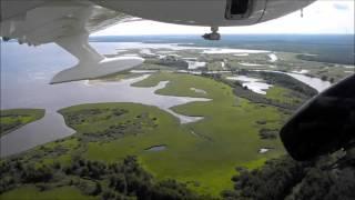 Летимо на риболовлю (з кабіни літака Л-42)