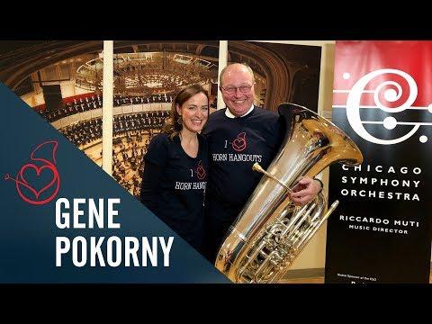 Gene Pokorny live on Sarah´s Horn Hangouts