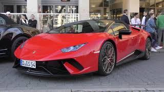 Lamborghini Invasion in Düsseldorf 2019! #1