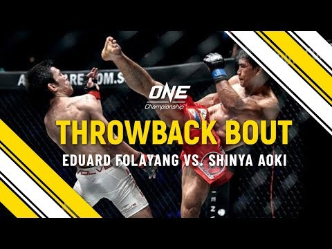 Eduard Folayang vs. Shinya Aoki   ONE Full Fight   Throwback Bout