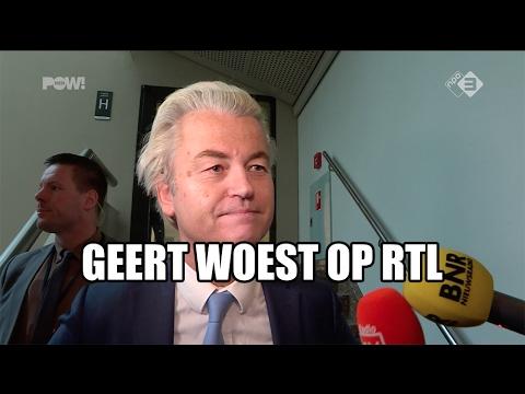 Geert woest op RTL