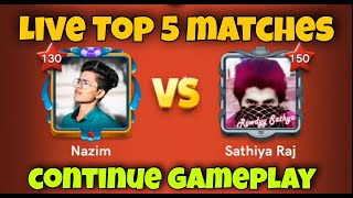 Rowdyy Vs Nazim 🔥   Top 5 Game Play matches   Live Game Play 🔥  Carrom pool   Nazim Carrom pool 🔥 screenshot 4