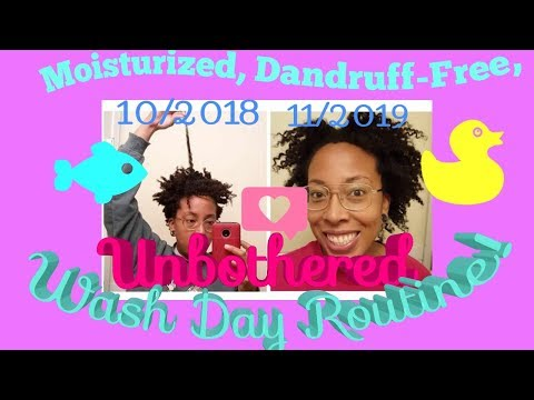 updated-wash-day-routine- -fast-hair-growth-and-healthy-scalp- -4a-4b-4c-winter-hair-regimen
