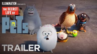 The Secret Life of Pets - Trailer #2 (HD) - Illumination(The Secret Life Of Pets - Trailer #2 (HD) – Illumination In Theaters Summer 2016 http://www.thesecretlifeofpets.com SUBSCRIBE: http://bit.ly/IlluminationSub For ..., 2016-01-28T15:58:43.000Z)