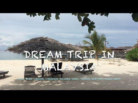 Trip in Malaysia(Mabul / Semporna / Sipadan / Kuala Lumper) diving travel Vlog