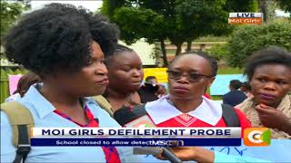Medical reports confirm the Moi girls student was defiled