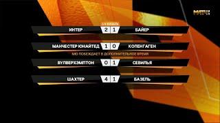 Обзор Лиги Европы. 1/4 финала