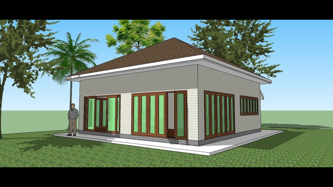 Small House Plans: Make The Tiny House In Google SketchUp 2013   YouTube Part 45