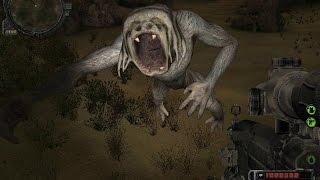 прохождение сталкер долина шорохов-новые мутанты или атака лагеря наемников #2