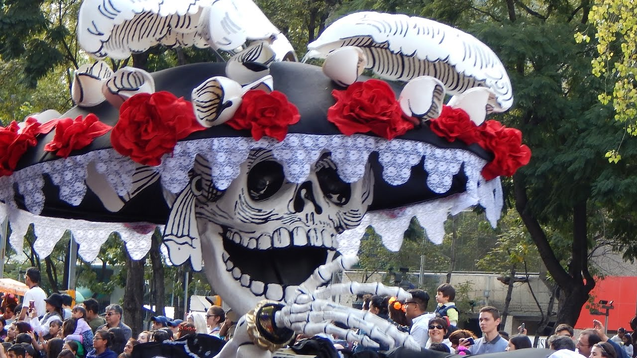 muertos dia desfile ciudad mexico los del el