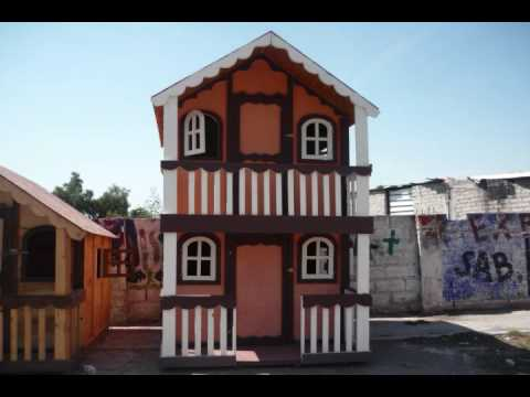 Casitas de madera youtube for Casitas de madera